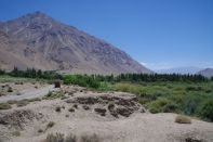 Kahle Berge, grünes Panj-Tal