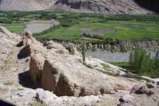 Die alte Festung Qahka aus dem 3. Jahrhundert vor Christus...
