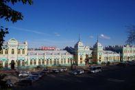 Der Hauptbahnhof von Irkutsk