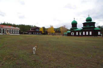 Das Ethnografische Freilichtmuseum in Ulan-Ude...