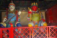 ...vier mächtige Tempelwächter