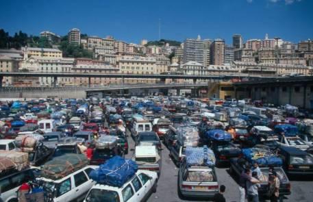 Im Hafen von Genua