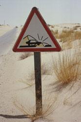Sandwarnung