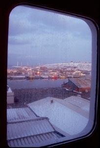 Blick auf Hanstholm