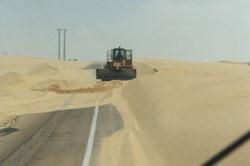 Sand, nichts als Sand
