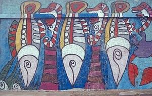 Gemälde an der Südmole