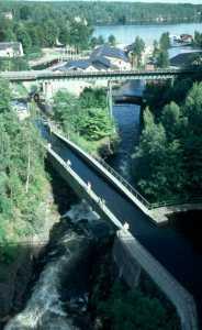 Der Dalslandkanal in Haverud