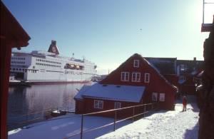 Die Altstadt mit Blick zur Nörröna