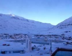 Island: Der Hafen von Seydisfjördur