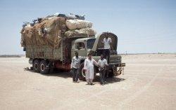 Auf dem Weg in den Sudan