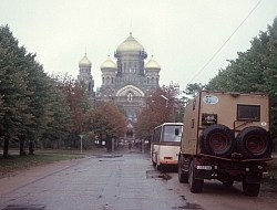 Orthodoxe Kathedrale in Liepaja
