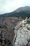Grandiose Aussichten in die Steilabhänge