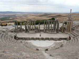 römische Ruinenstadt Dougga - Weltkulturerbe