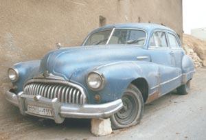 Ein wunderschön erhaltender Buick aus den 50er