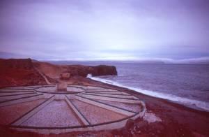 Schafspferch am Strand von Hamarsrétt