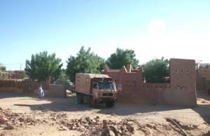 Der Campingplatz Bab Sahara in Atar...