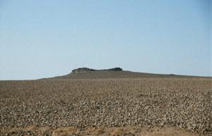 ...bei Anfahrt zum Qsar el Huwaymit der Lohn