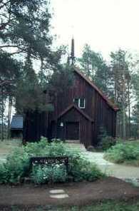 Die alte Kirche in Sodankylä