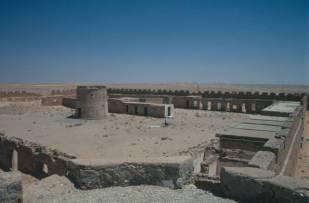 Das italienische Fort in Waddan