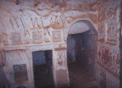 Wohngebäude in der Altstadt von Ghadames