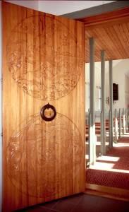 Kirchtürnachbildung aus dem 12. Jahrhundert