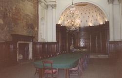 ehemaliges Lordzimmer in einer Bank