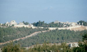 Das Simonskloster in Norden Syriens