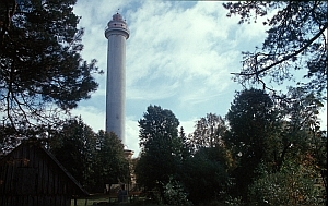 Mikelbaka, der höchste Leuchtturm im Baltikum
