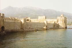 Die Burgruine Anamur