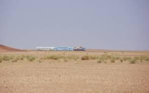 Nicht nur Erz-, auch Personenzüge fahren