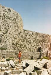 Das Theater in Termessos