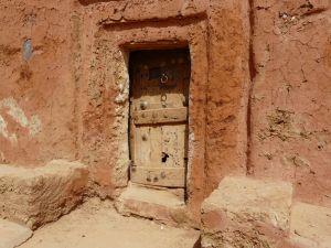 Hier die berühmten Türen...
