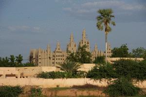 Die große Moschee in Mopti