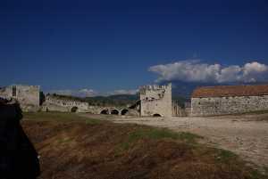 Die alte Oberstadt von Berat...