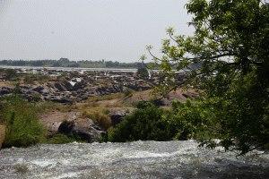 Wasserschnellen von Chutes du Félou
