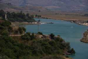 Blick auf Butrint und den Vivar-Kanal