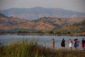 Der Fischer, frischer Fisch und nette Frauen.