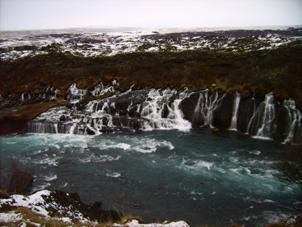 Die faszinierenden Wasserfälle...
