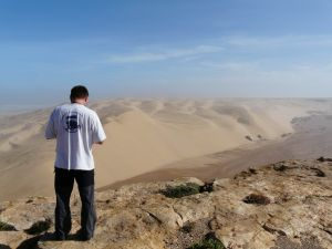 Hier mündet das Oued Aoreora...