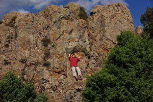 Über der Area Soste Monte Lopene...