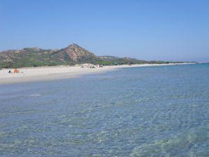 Der herrliche Strand von Spaggia die Berchida...