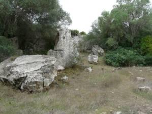 Im antiken Steinbruch Cave de Cusa...