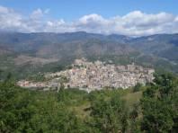 Dorf in Siziliens Bergen