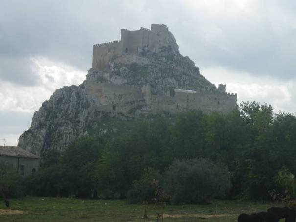 Festung auf Sizilien
