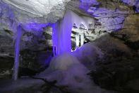 ...gefrorene Wasserfälle...