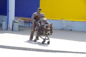 ...Mann muss es nur in den Einkaufswagen packen