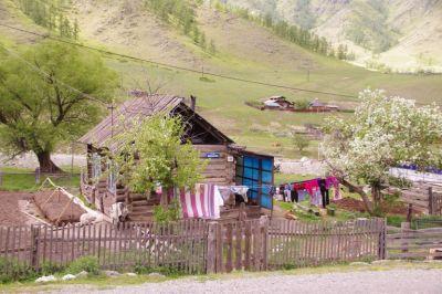 Klein aber Mein - Wohnkate im Altai