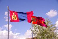...ist Oasis in der Mongolei