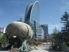 Apex of the Sky - Denkmal zum 55. Jahrestag der UN-Mitgliedschaft und der Blue Sky Tower