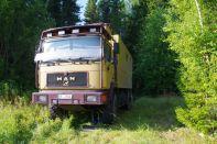 Radwechsel in der Natur bei Perm...